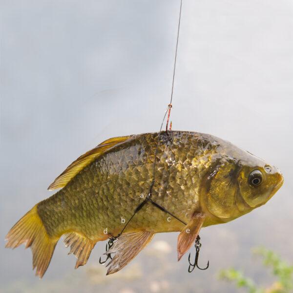 Twin Hooklink Baitfish Release Rig