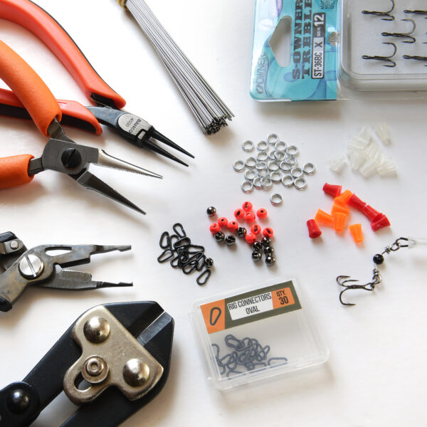 Claw Connector kit w tools - SG Mini splitring and braidcutter